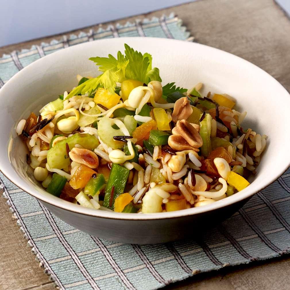 Изобразяване на рецептата Сладко-кисела салата с див ориз