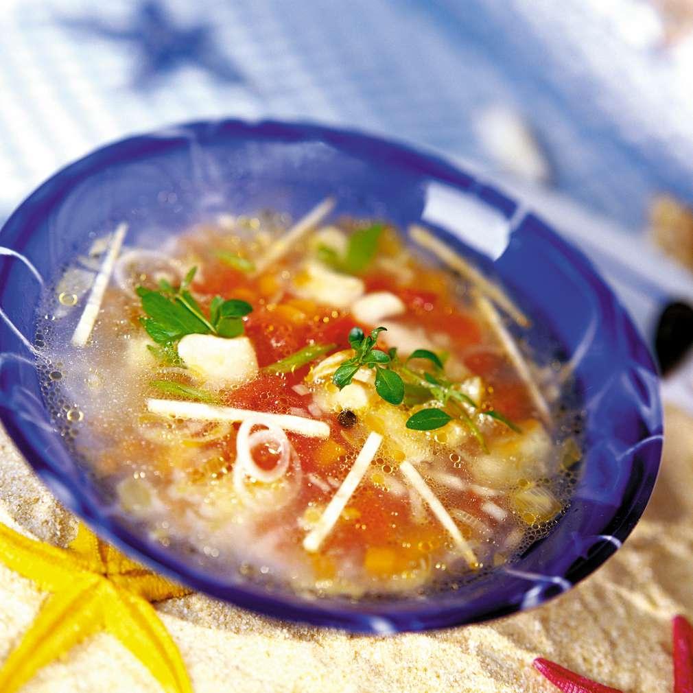 Изобразяване на рецептата Френска рибена супа