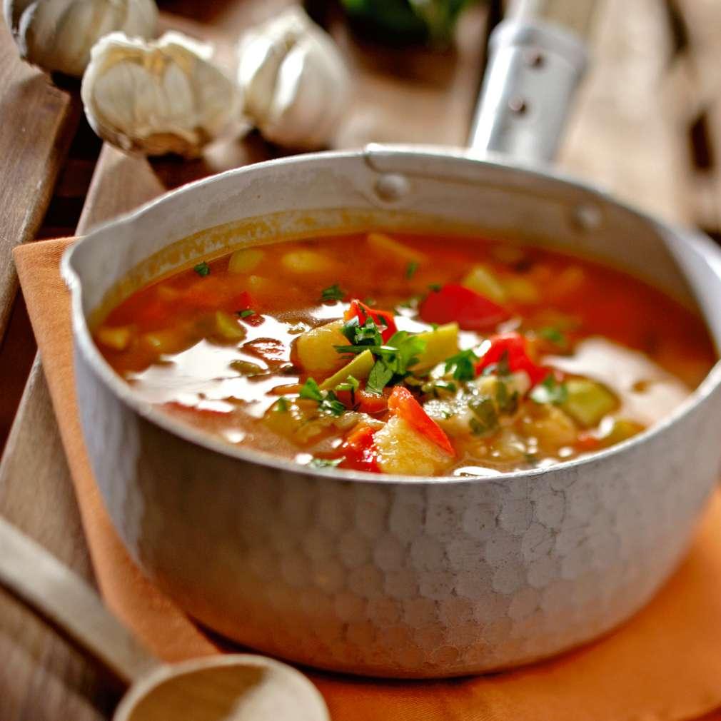 Изобразяване на рецептата Бърза зеленчукова супа