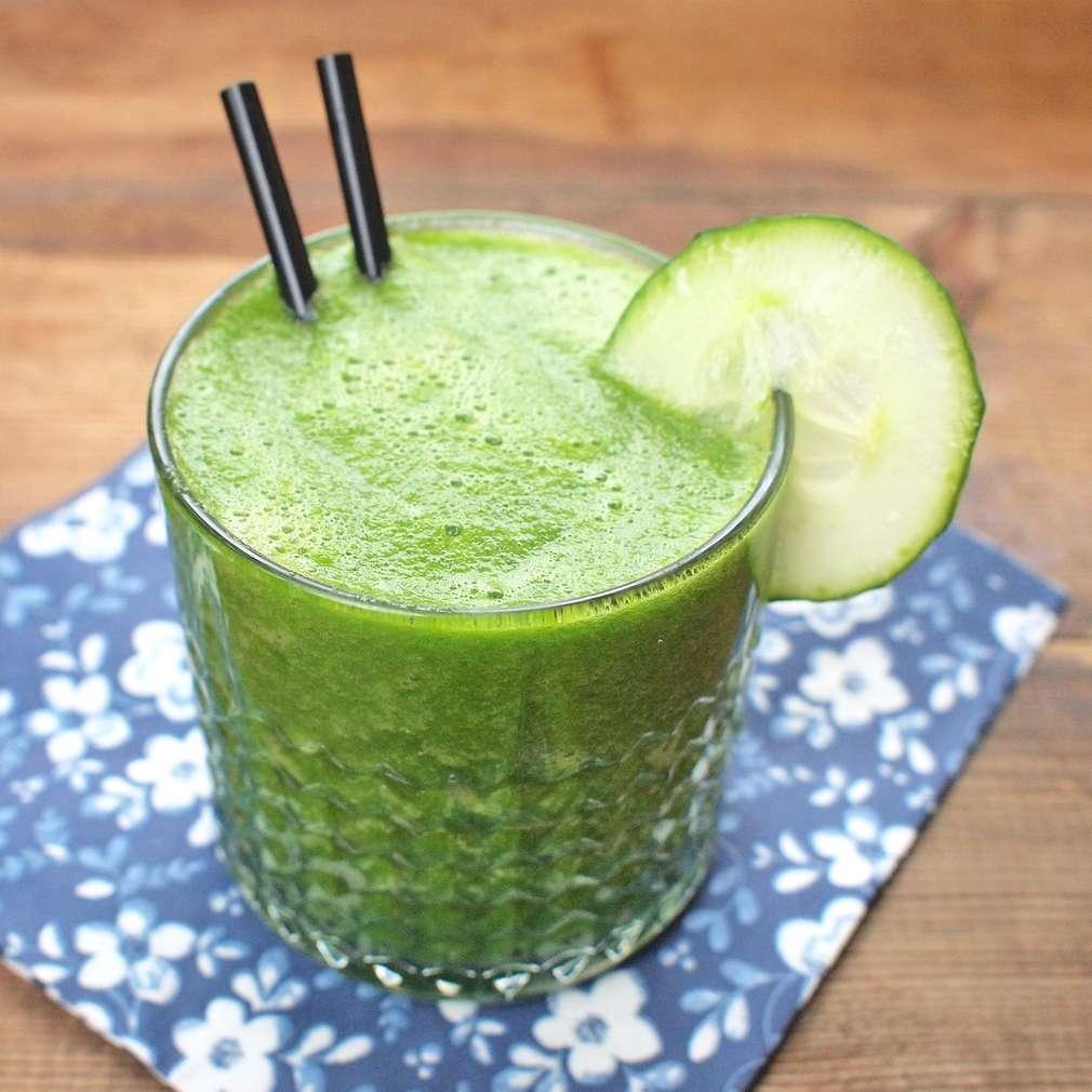 Zobrazit Zelené smoothie s okurkou receptů