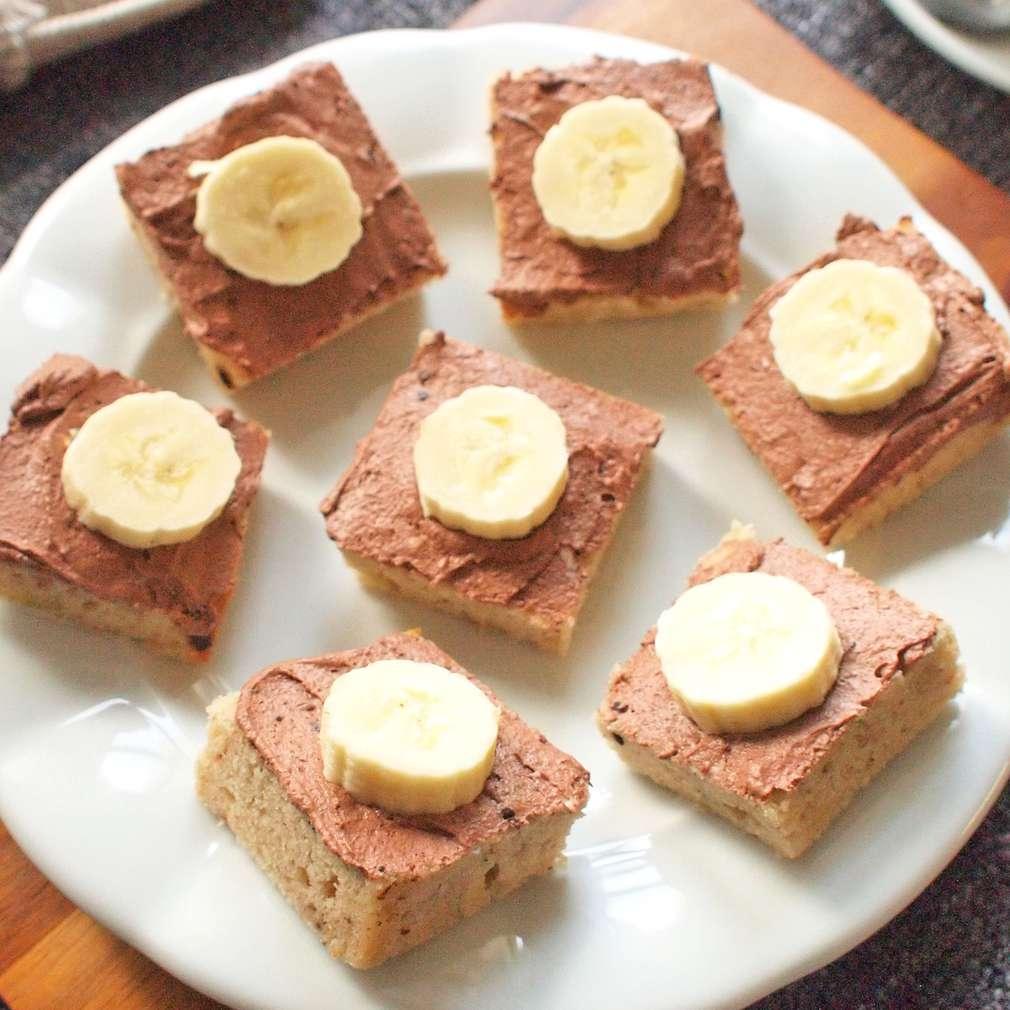Zobrazit Banánové řezy s krémem receptů
