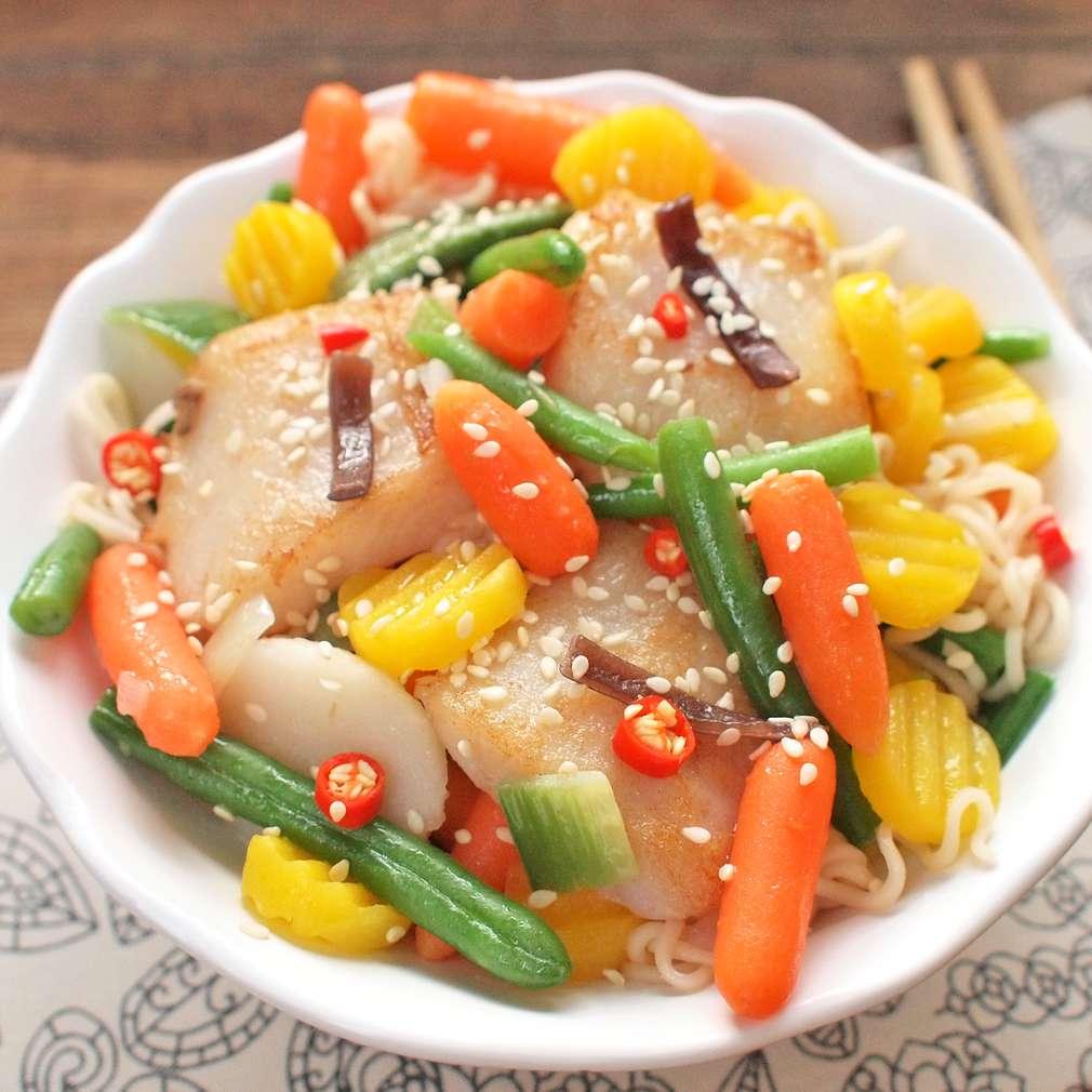 Zobrazit Rychlý stir fry z pangase receptů