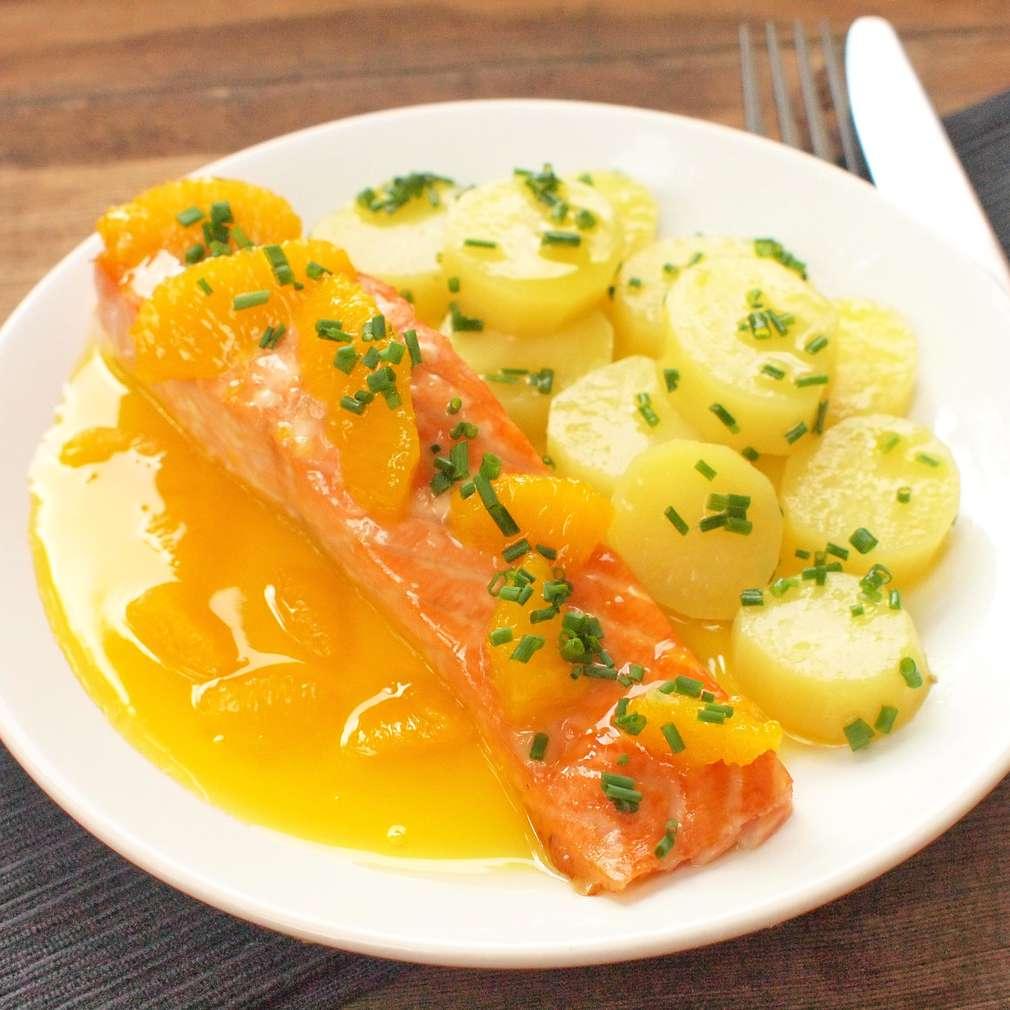 Zobrazit Filet na pomerančích receptů
