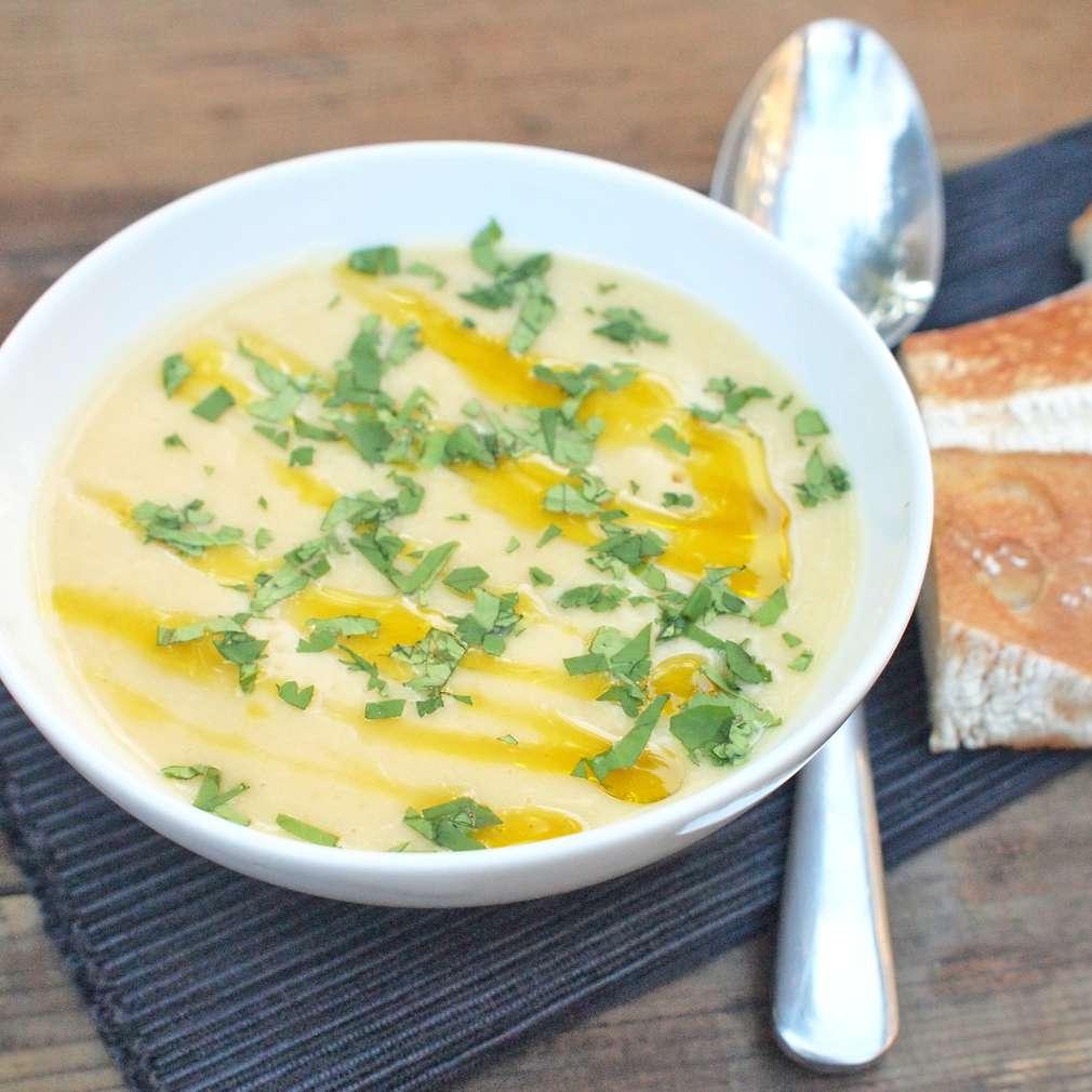 Zobrazit Cizrnová krémová polévka receptů