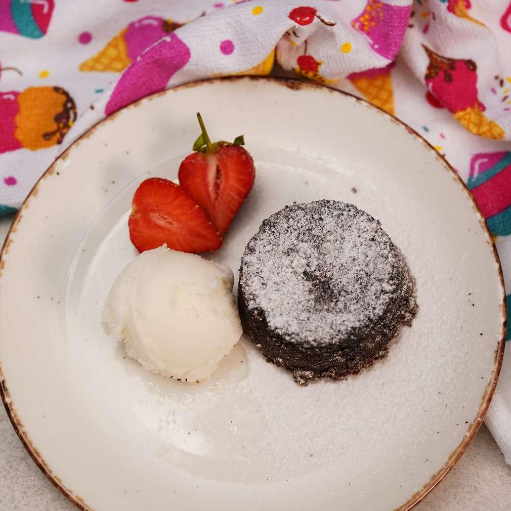 Изобразяване на рецептата Лава кейк