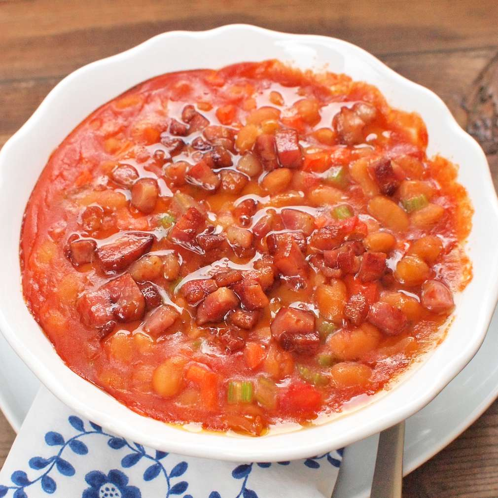 Zobrazit Pečené fazole receptů