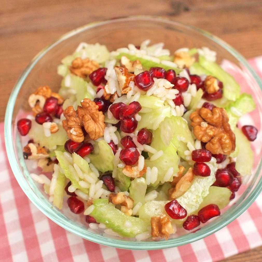 Celerový salát s rýží