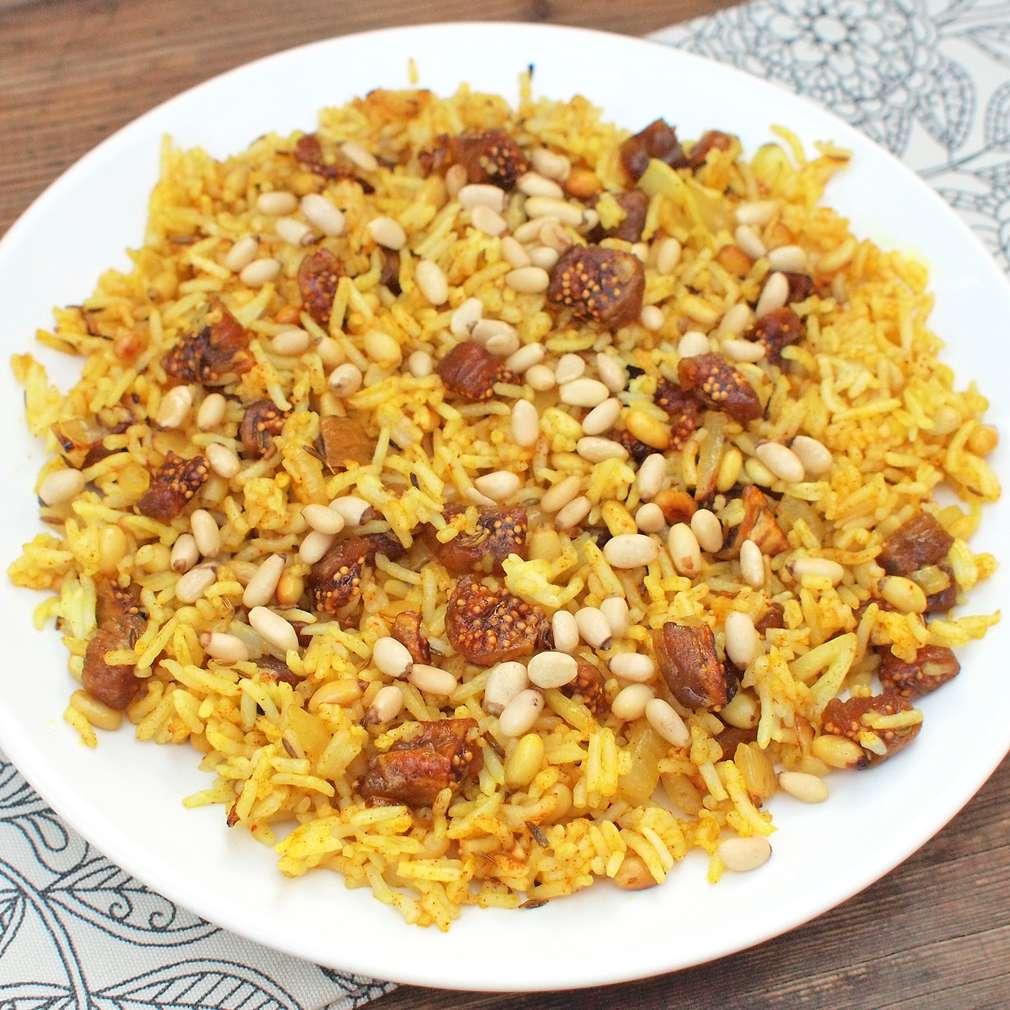 Zobrazit Marocká rýže receptů