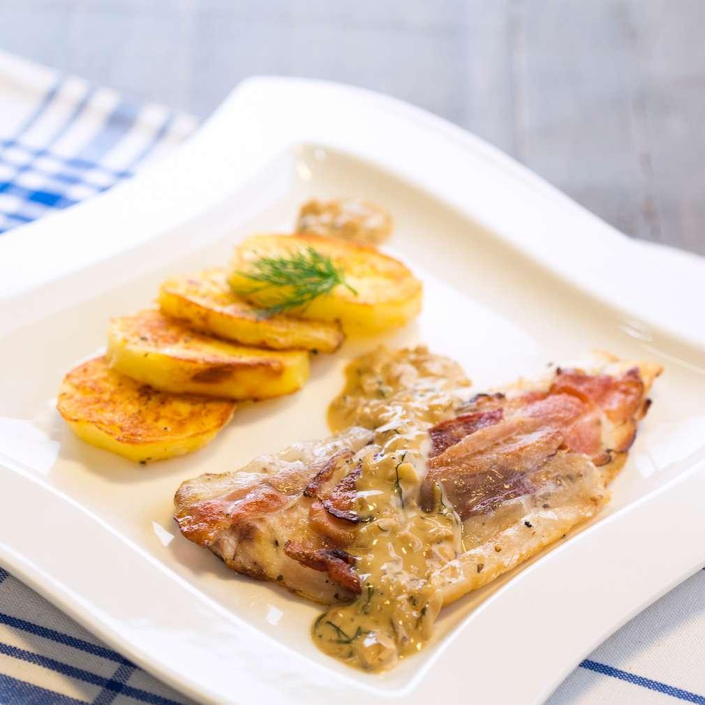 Изобразяване на рецептата Ципура в сос от Mарсала