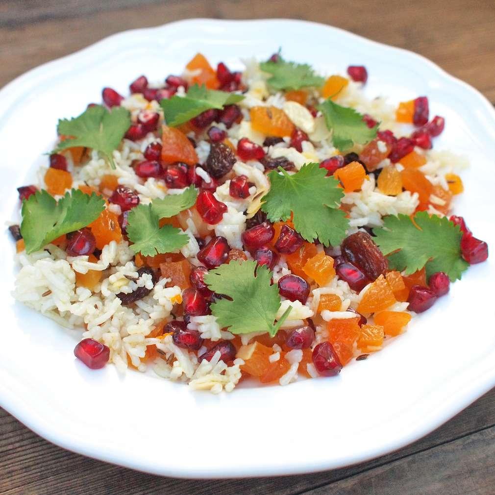 Zobrazit Voňavá rýže s mandlemi receptů