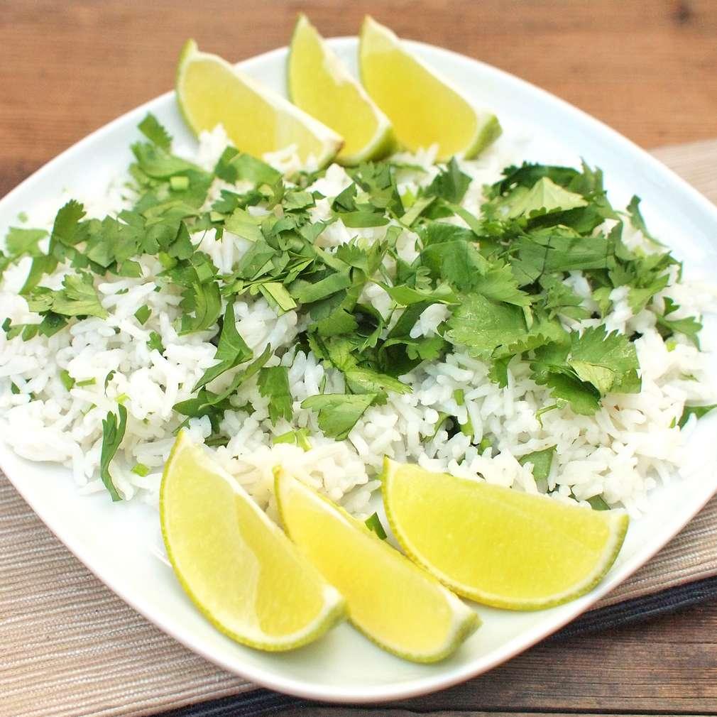 Zobrazit Koriandrová rýže s limetkou receptů
