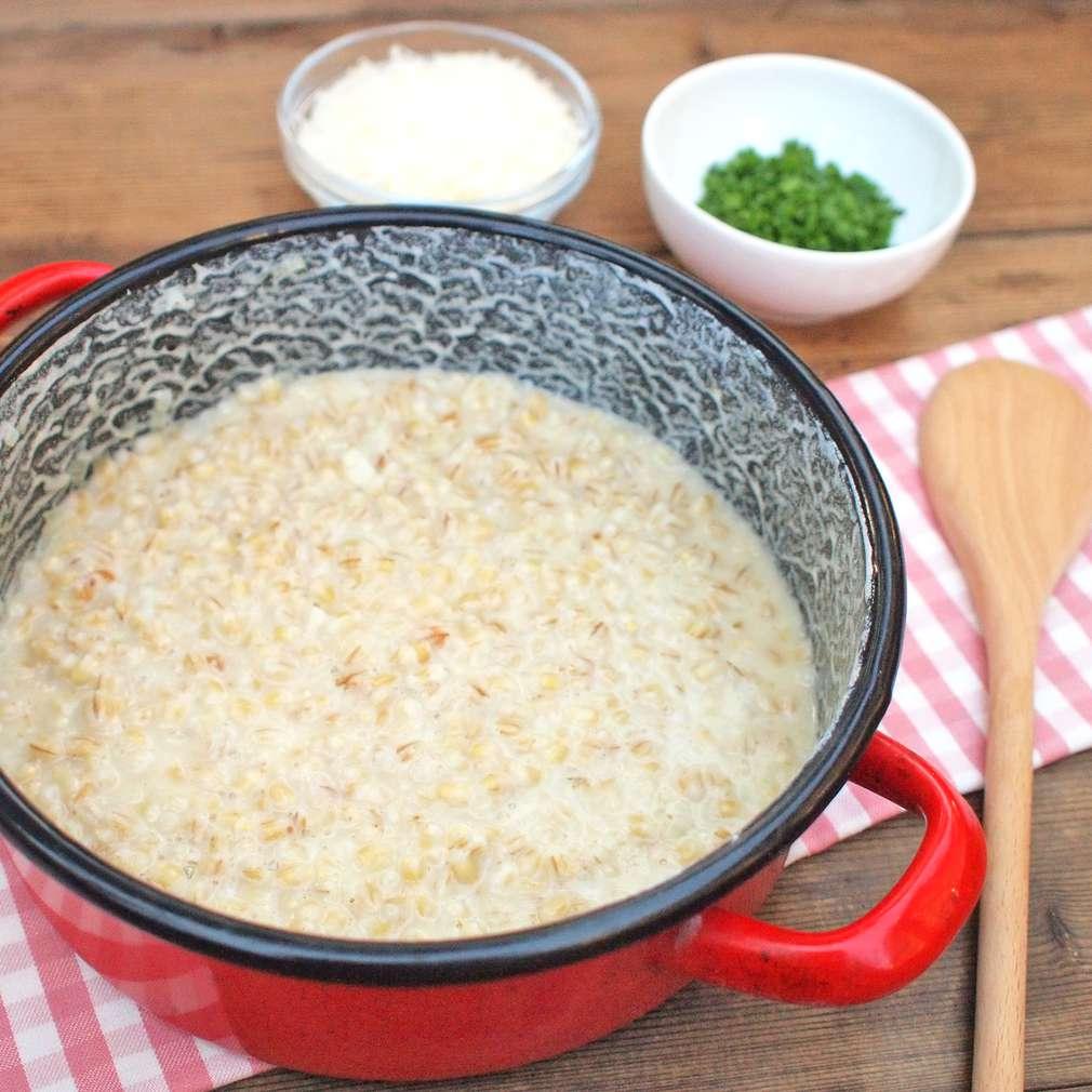 Zobrazit Kroupové risotto s parmazánem receptů