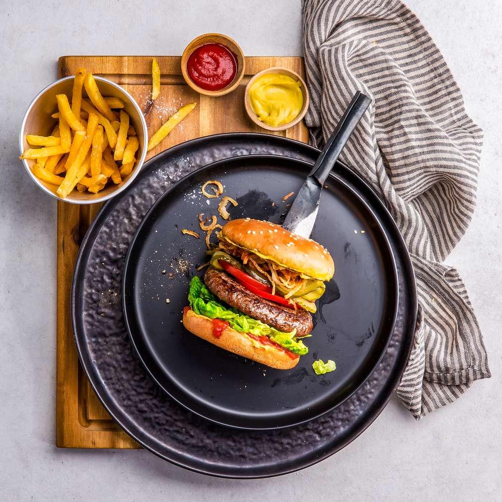 Imaginea rețetei Burger clasic