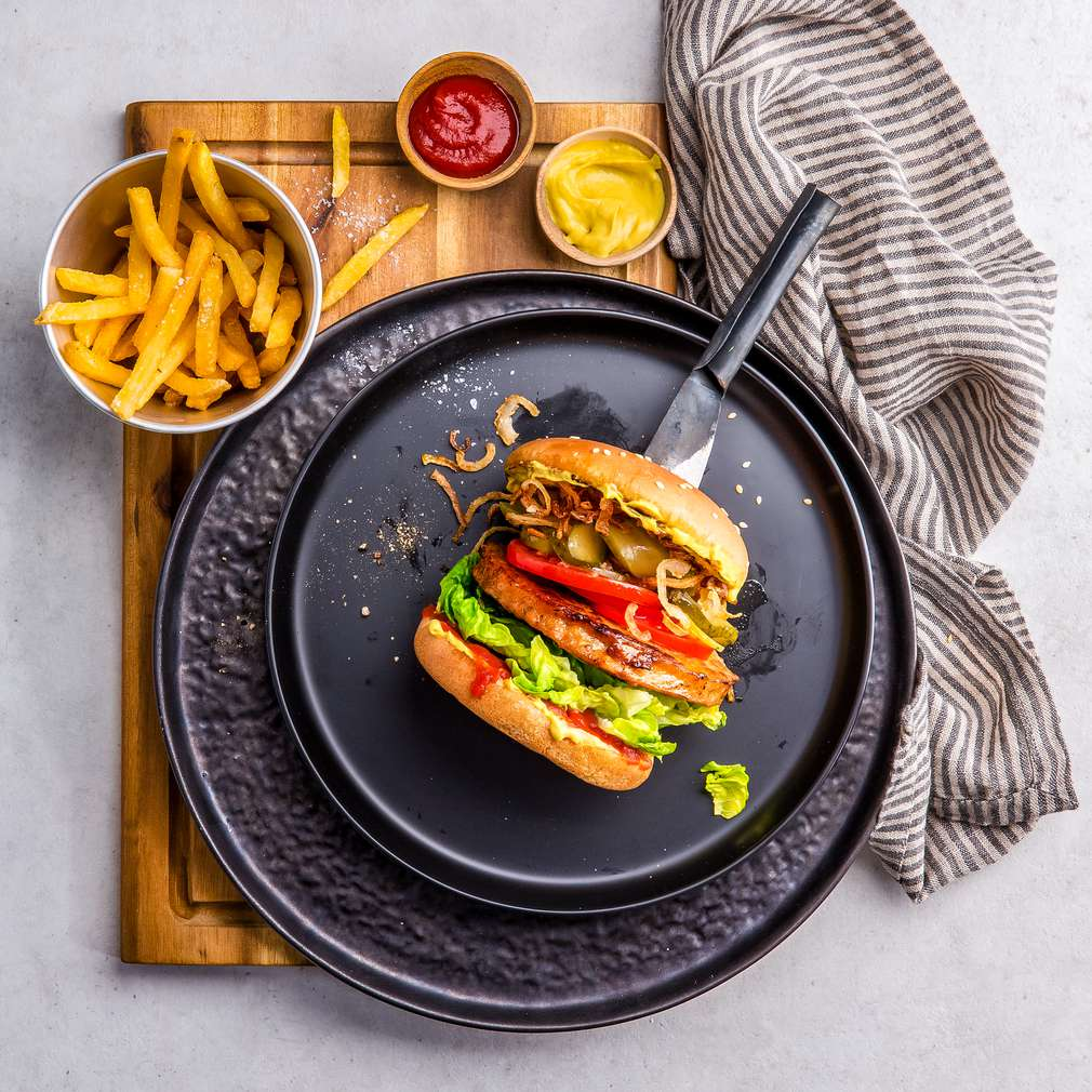 Abbildung des Rezepts Classic Veggie-Burger