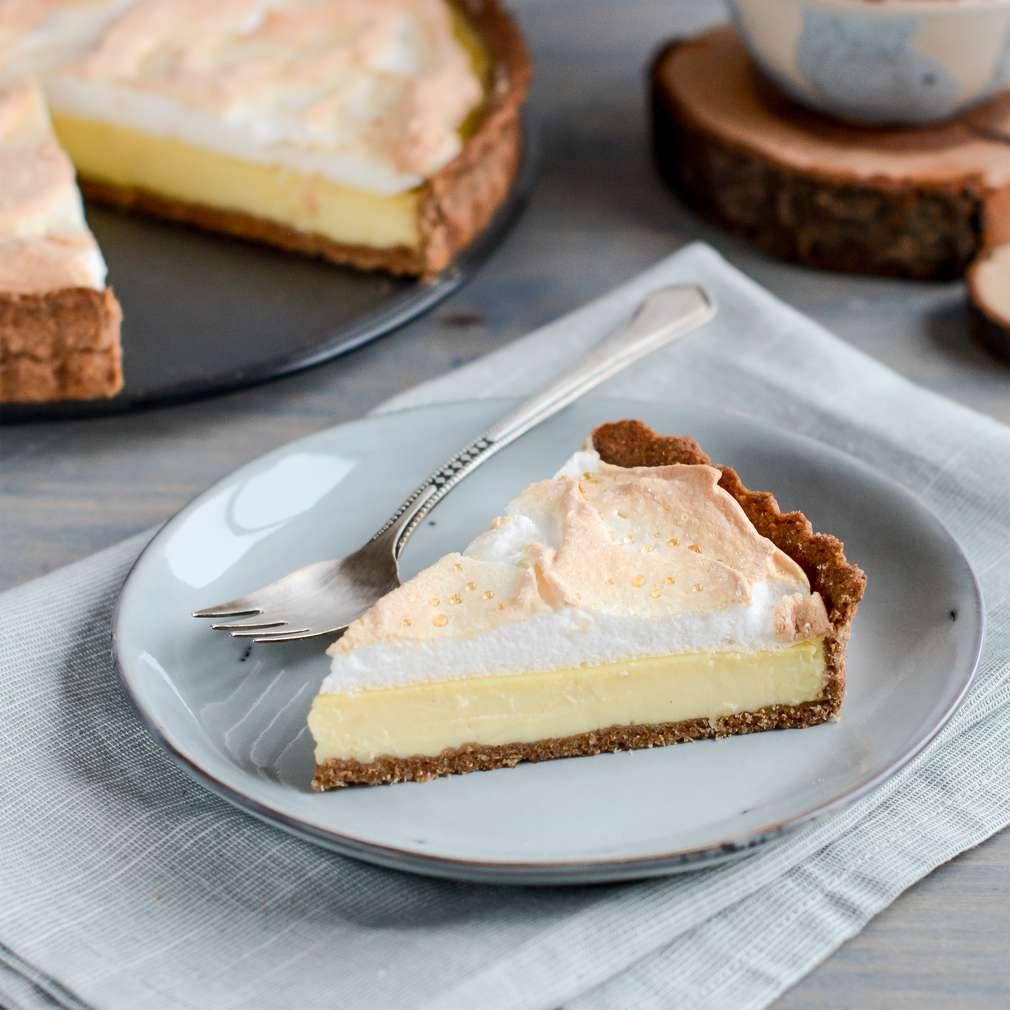 Zobrazenie receptu Tvarohovo-citrónový tart/koláč s penou