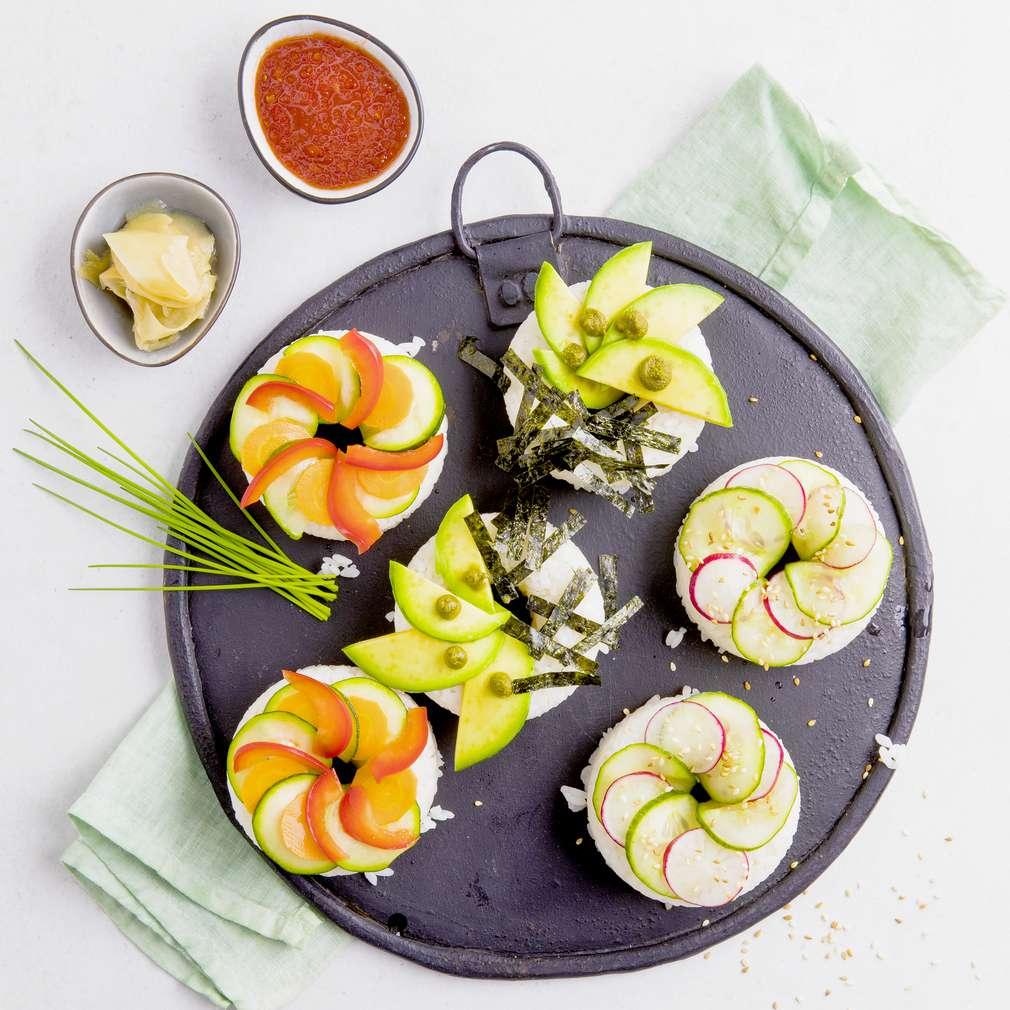 Abbildung des Rezepts Sushi-Donuts