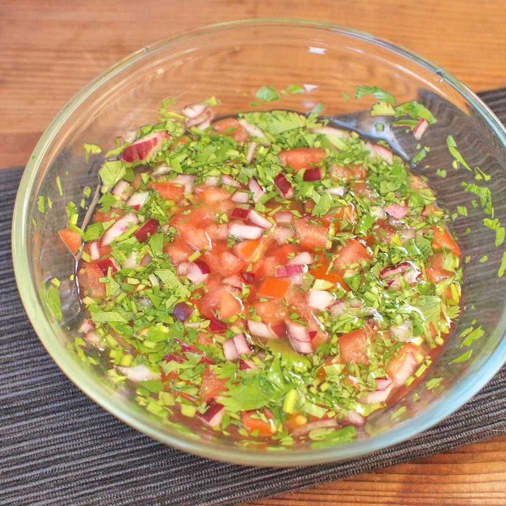 Zobrazit Čerstvá koriandrová salsa receptů