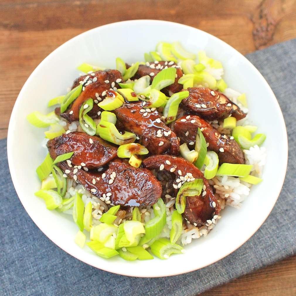Zobrazit Rychlé kuře á la teriyaki receptů