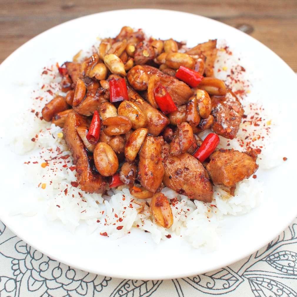 Zobrazit Kuře Kung Pao receptů