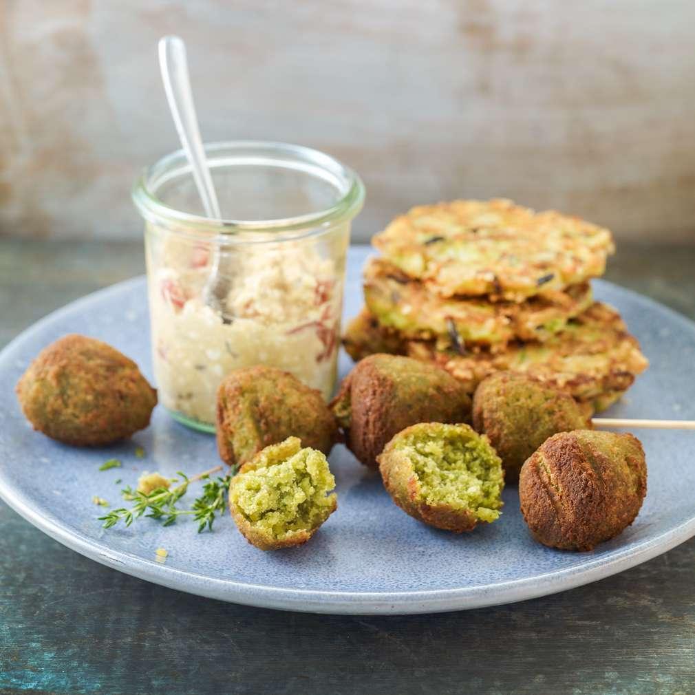 Imaginea rețetei Falafel cu chiftele din orez și zucchini