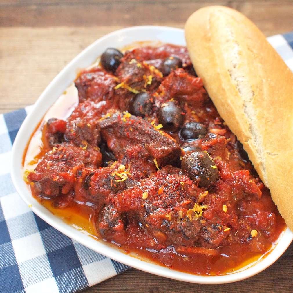 Zobrazit Dušené hovězí ze Sicílie receptů