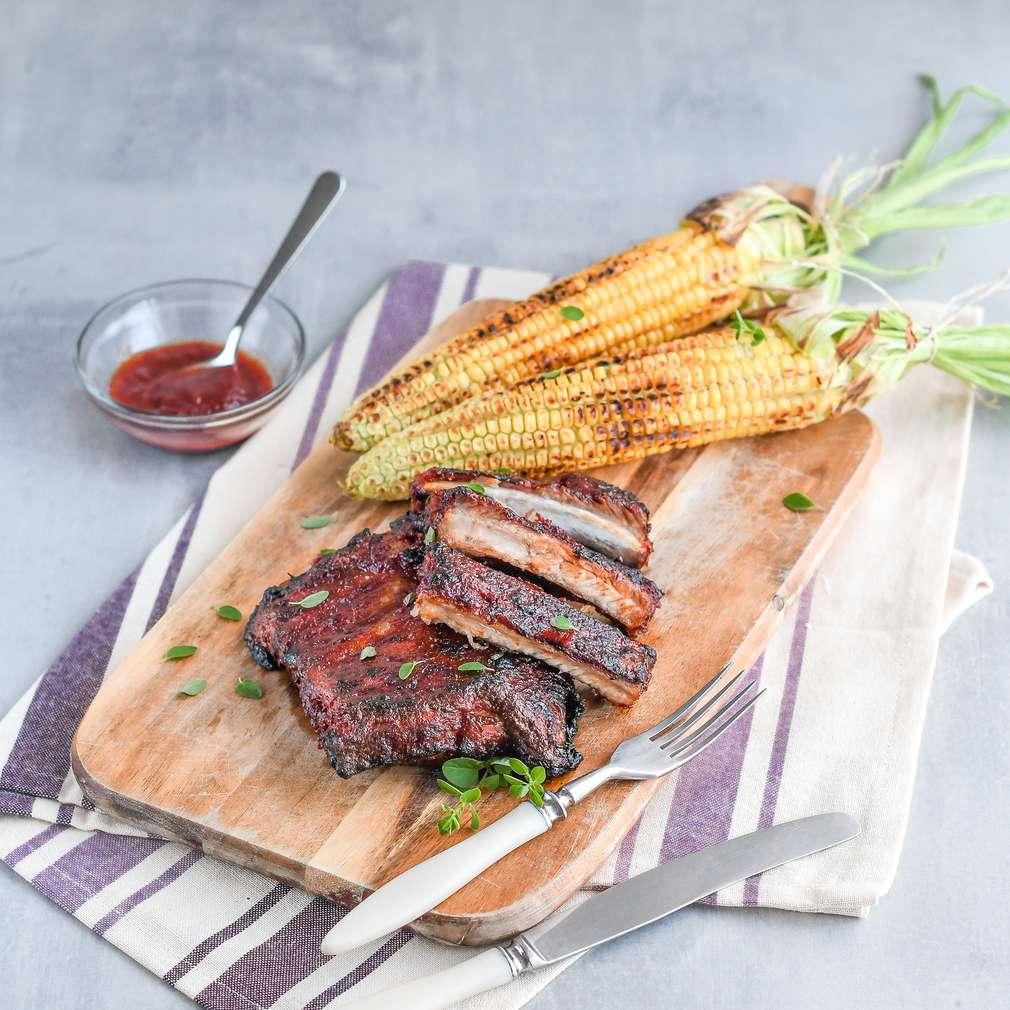 Zobrazenie receptu Rebierka v domácej BBQ omáčke