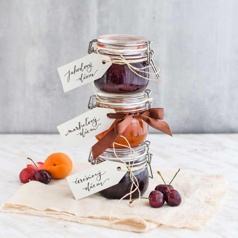 Zobrazenie receptu Ovocné džemy