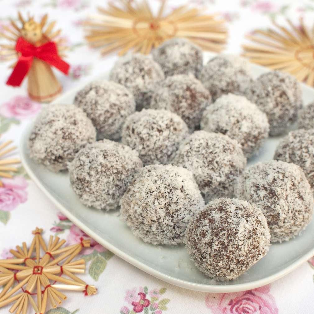 Zobrazit Rumové kuličky s kokosem receptů