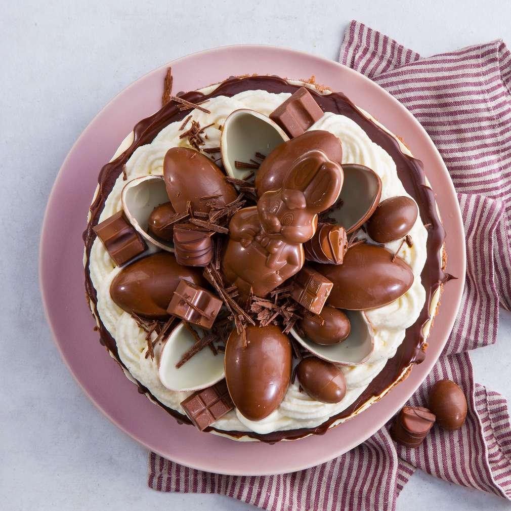 Abbildung des Rezepts Oster-Schokoladendrip-Torte