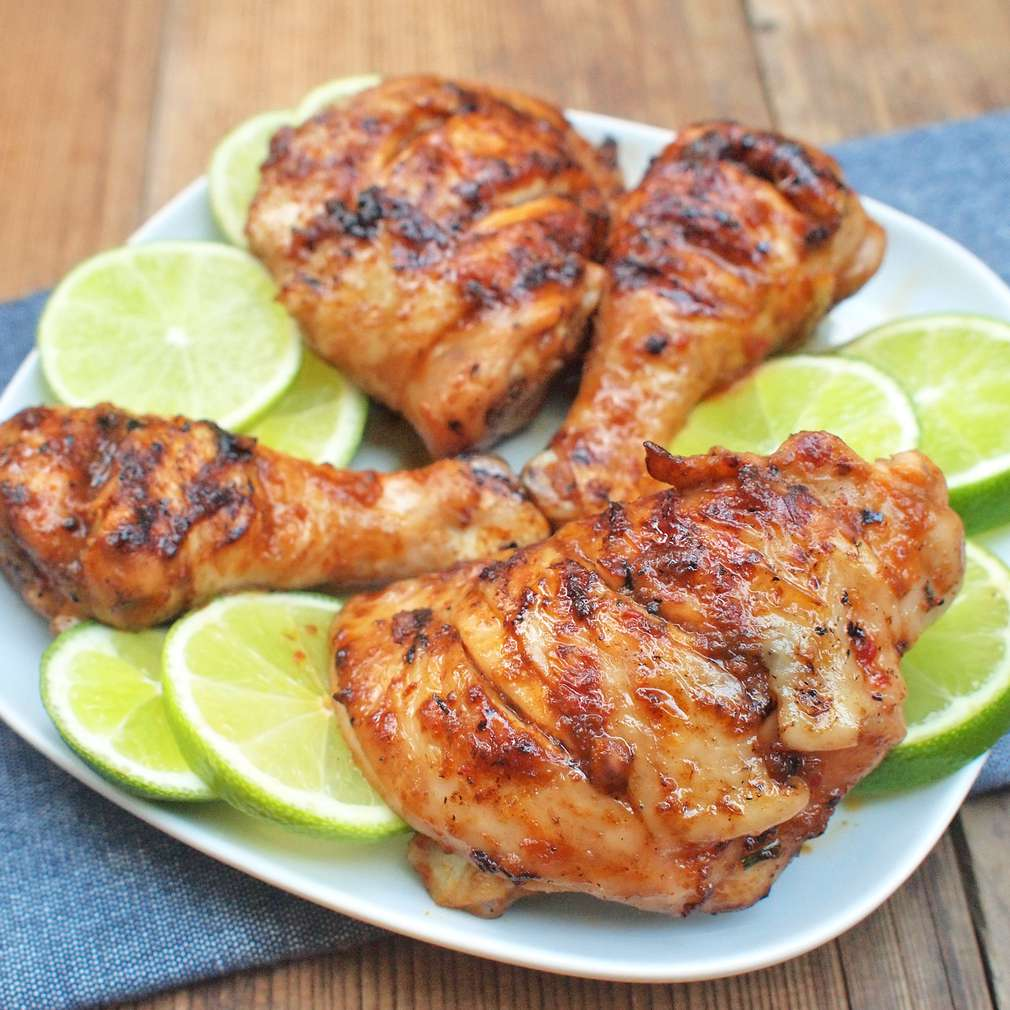 Zobrazit Grilované kuře s karibskou krustou receptů