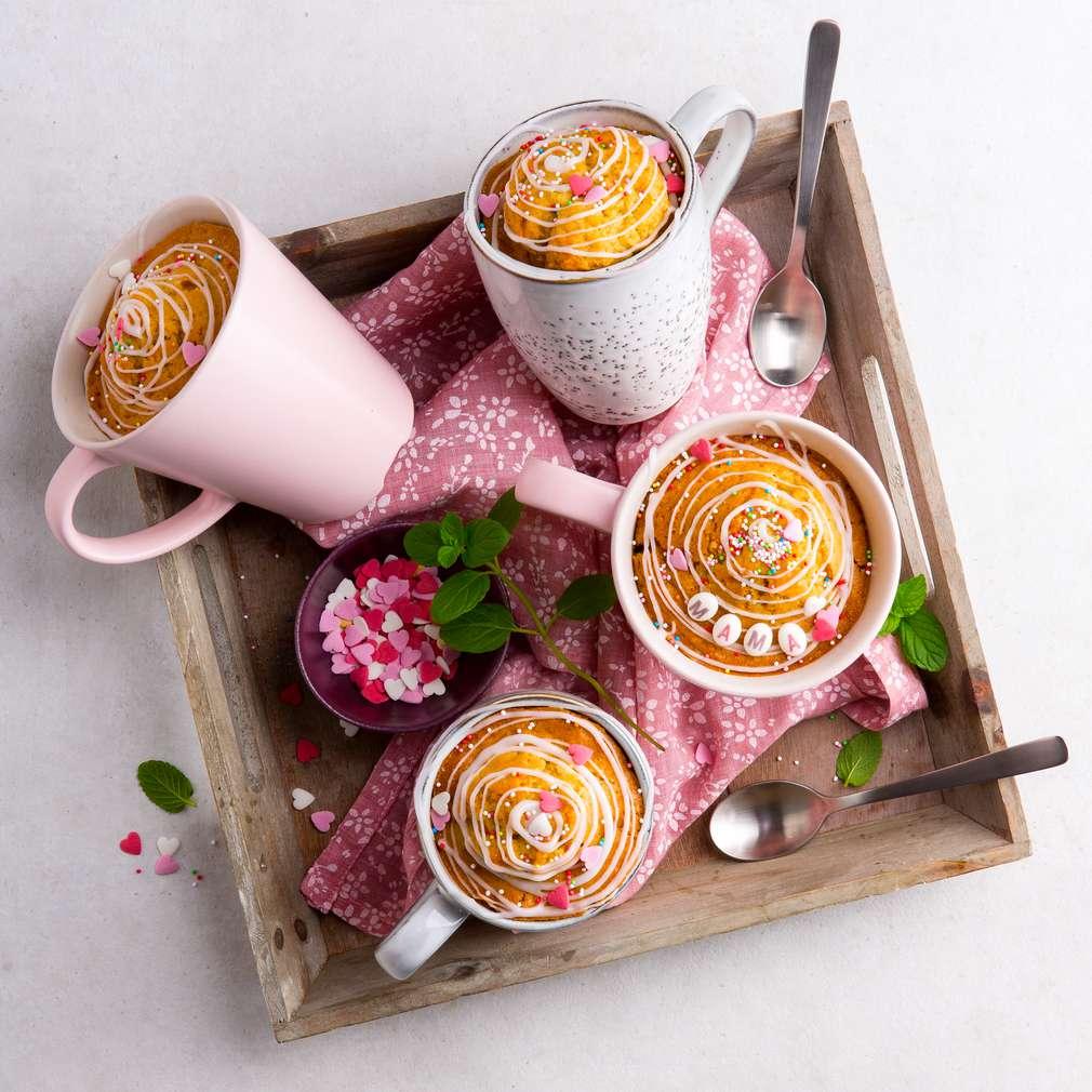 Abbildung des Rezepts Kunterbunter Mama-Tassenkuchen