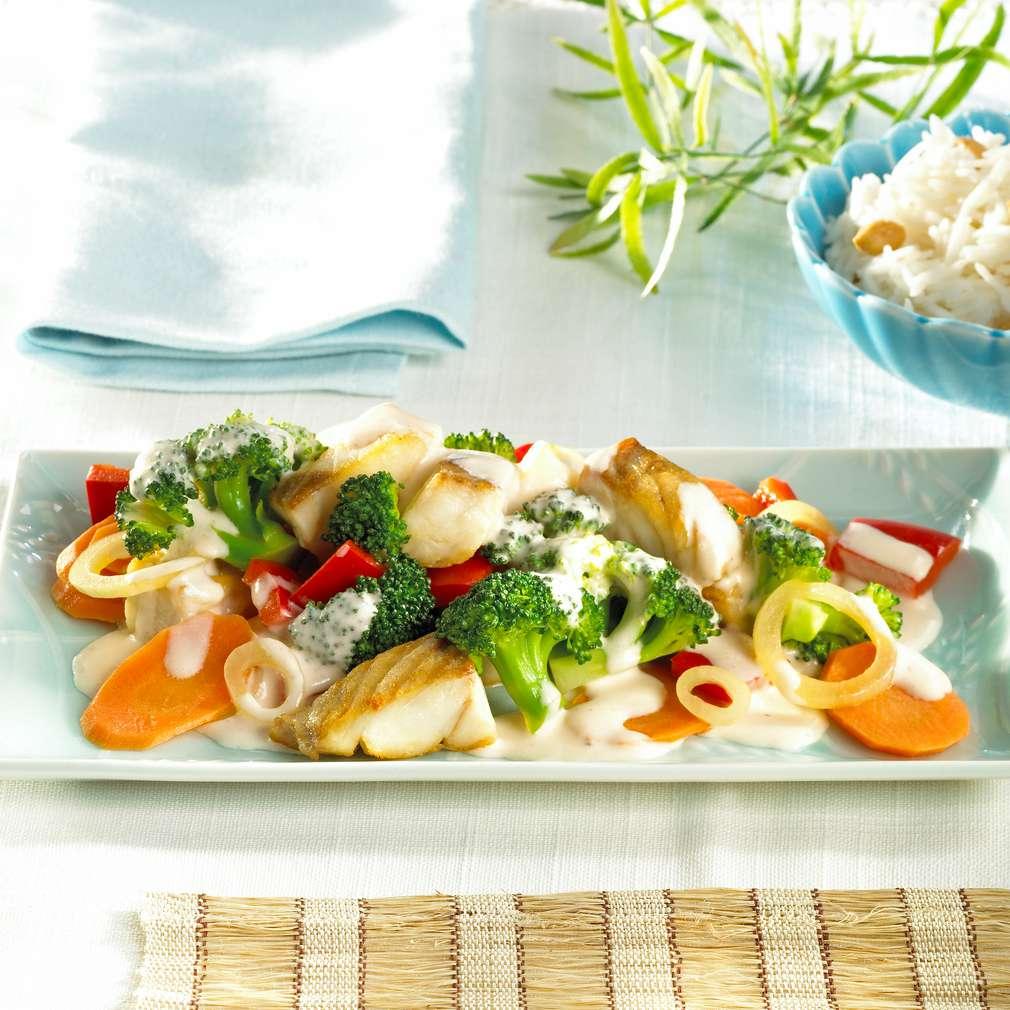 Abbildung des Rezepts Thailändisches Seelachsfilet