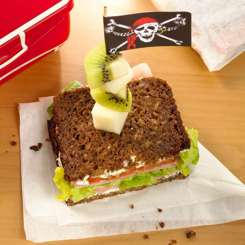 Zobrazit Pirátský sendvič pro děti receptů