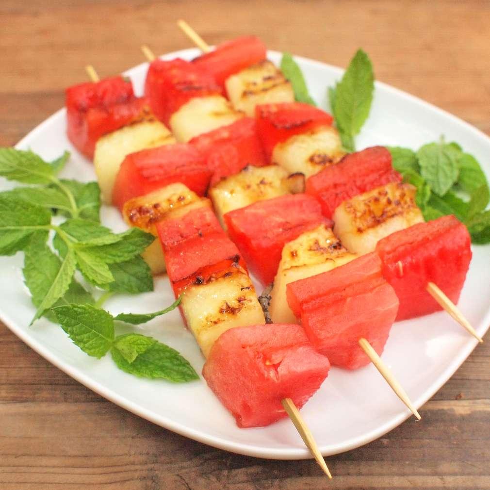 Zobrazit Grilovaný meloun receptů