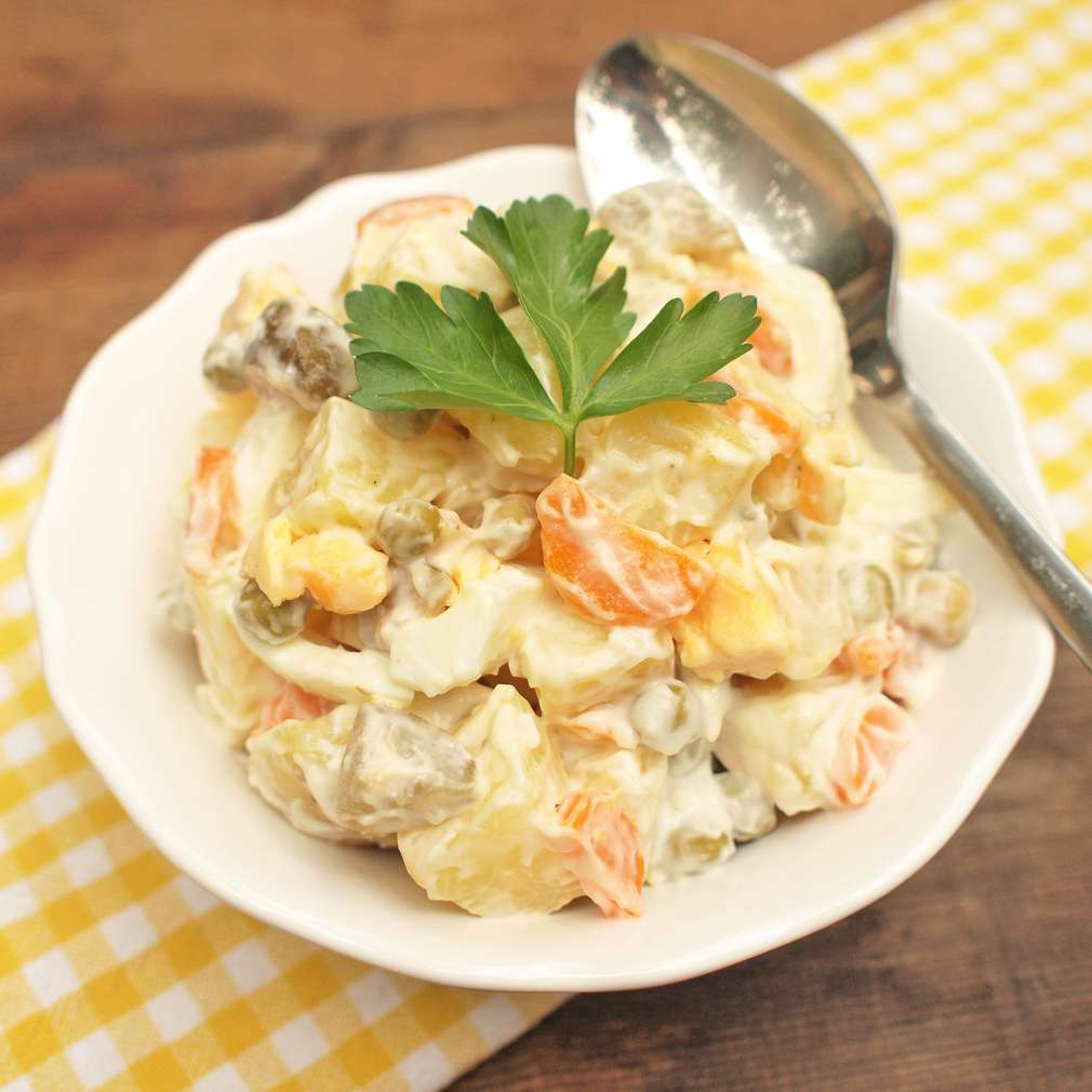 Zobrazit Klasický bramborový salát receptů