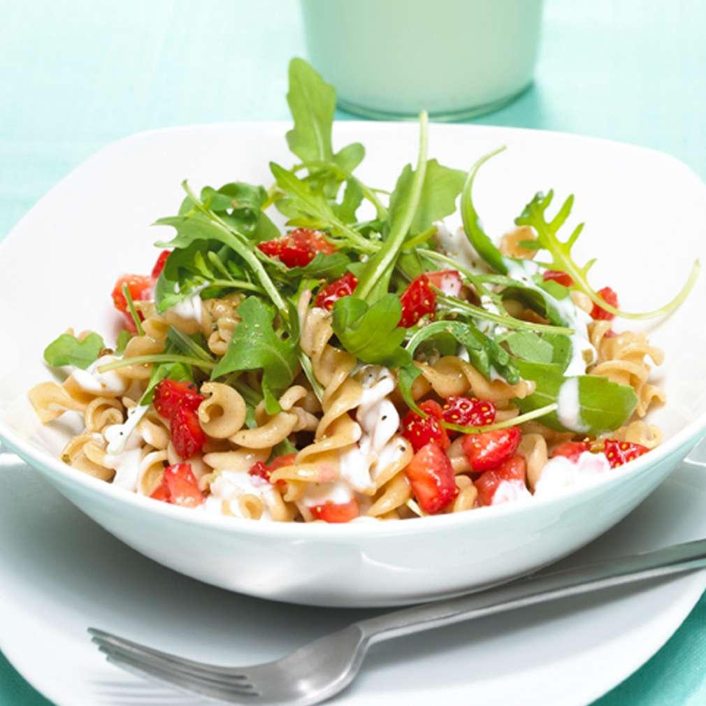 Zobrazit Těstovinový salát s rukolou receptů