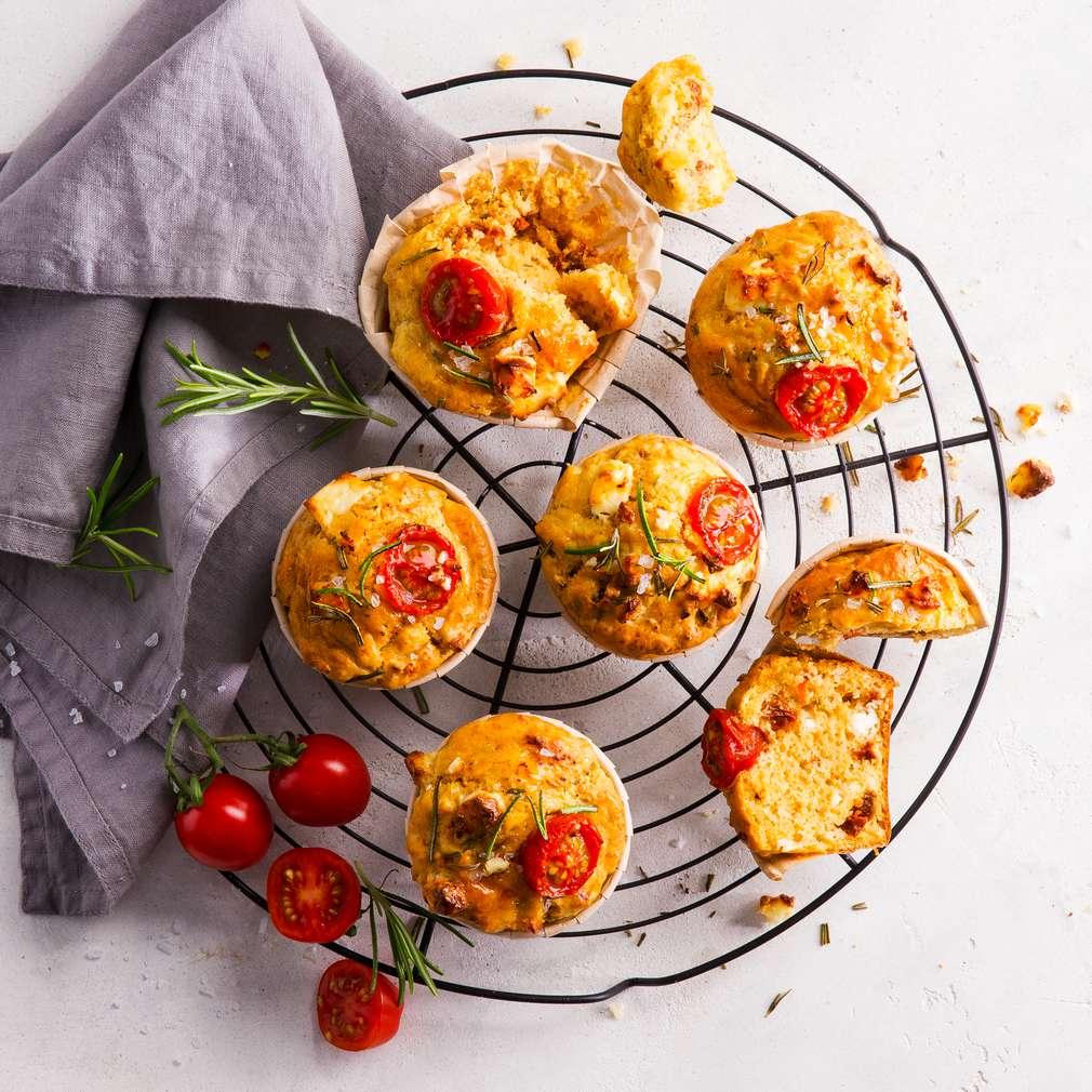 Abbildung des Rezepts Tomaten-Rosmarin-Muffins