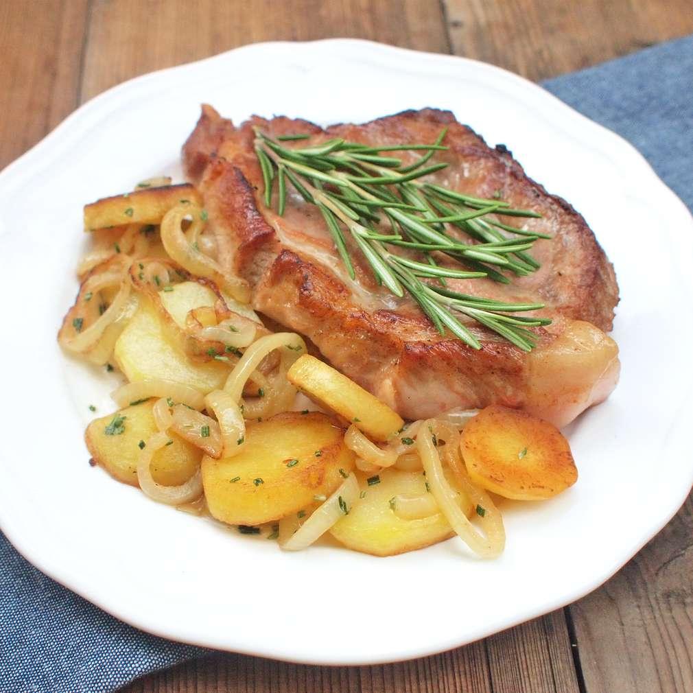 Zobrazit Zapečená krkovice s bramborem receptů