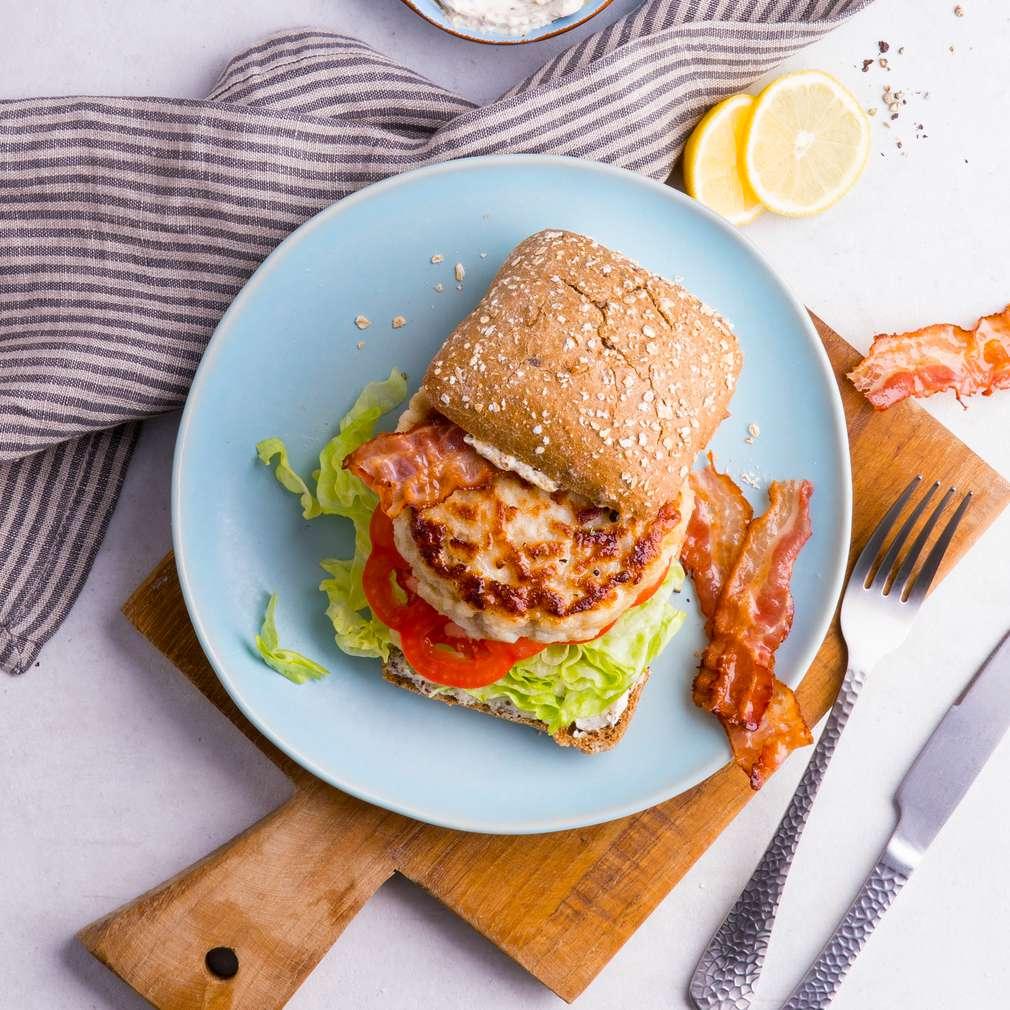 Abbildung des Rezepts Kabeljau-Burger