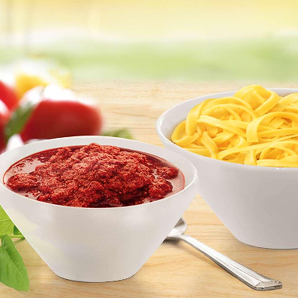 Abbildung des Rezepts Tomaten-Pesto-Tagliatelle