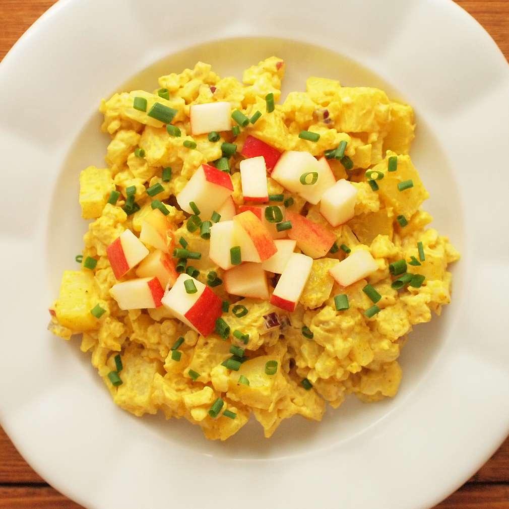Zobrazit Květákový kari salát receptů
