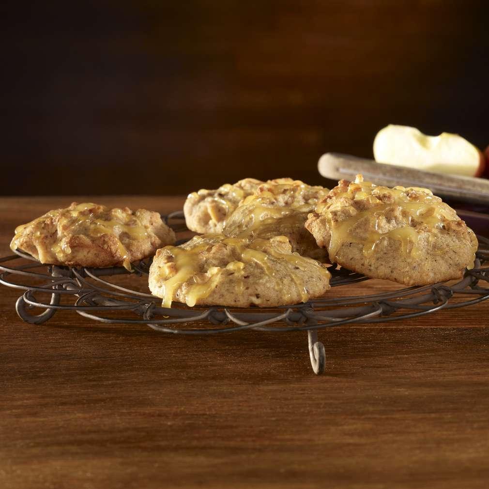 Abbildung des Rezepts Winterliche Apfel-Cookies