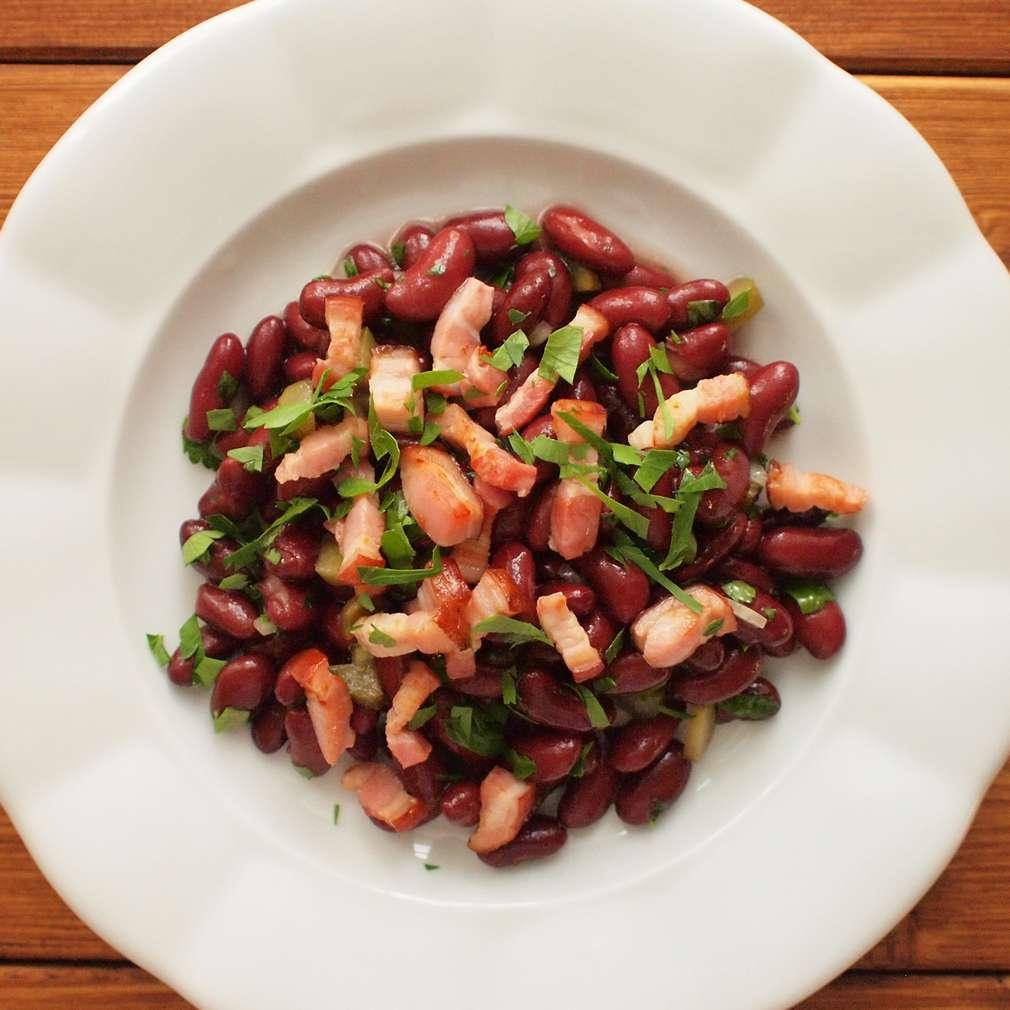 Zobrazit Fazolový salát receptů