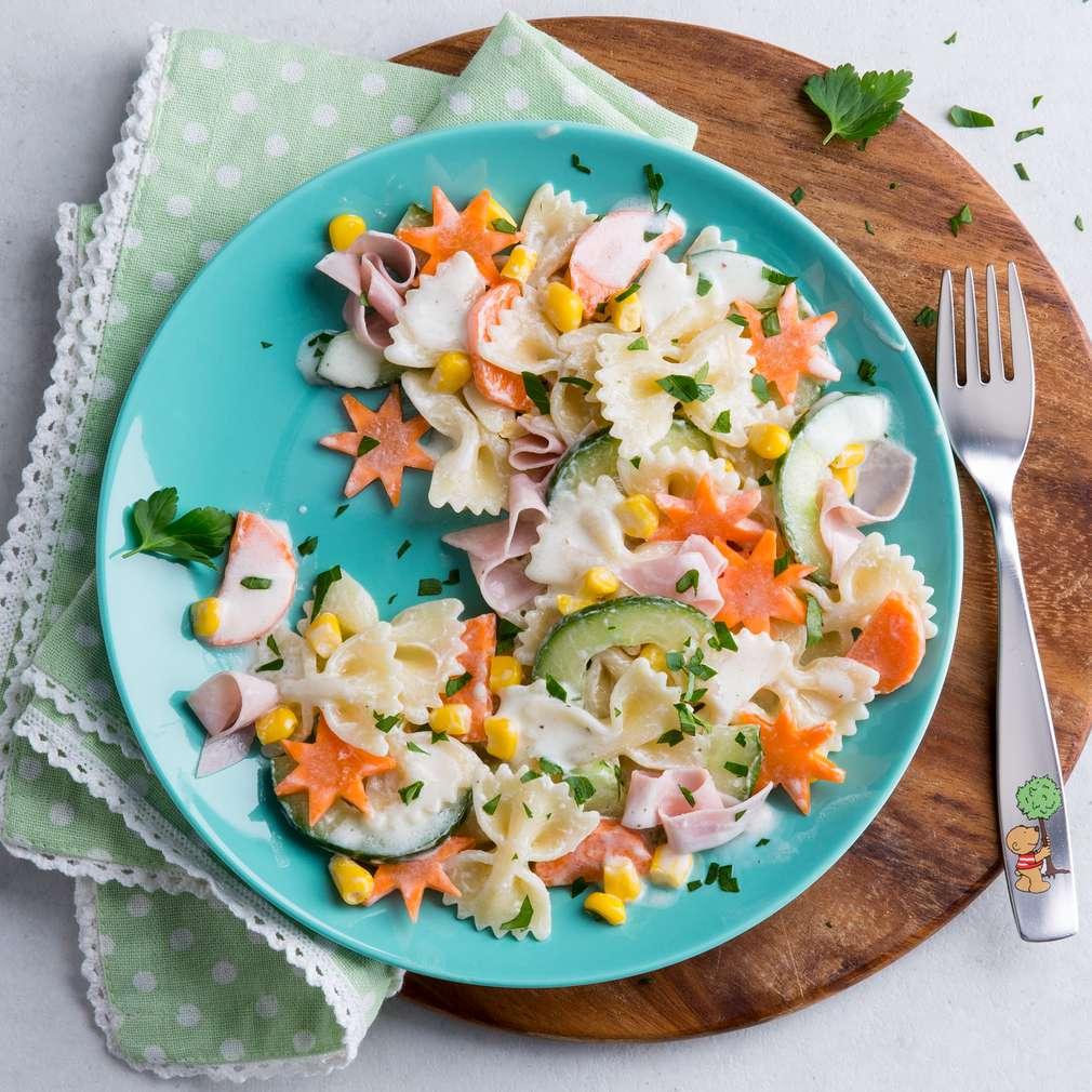 Zobrazit Rychlý těstovinový salát receptů