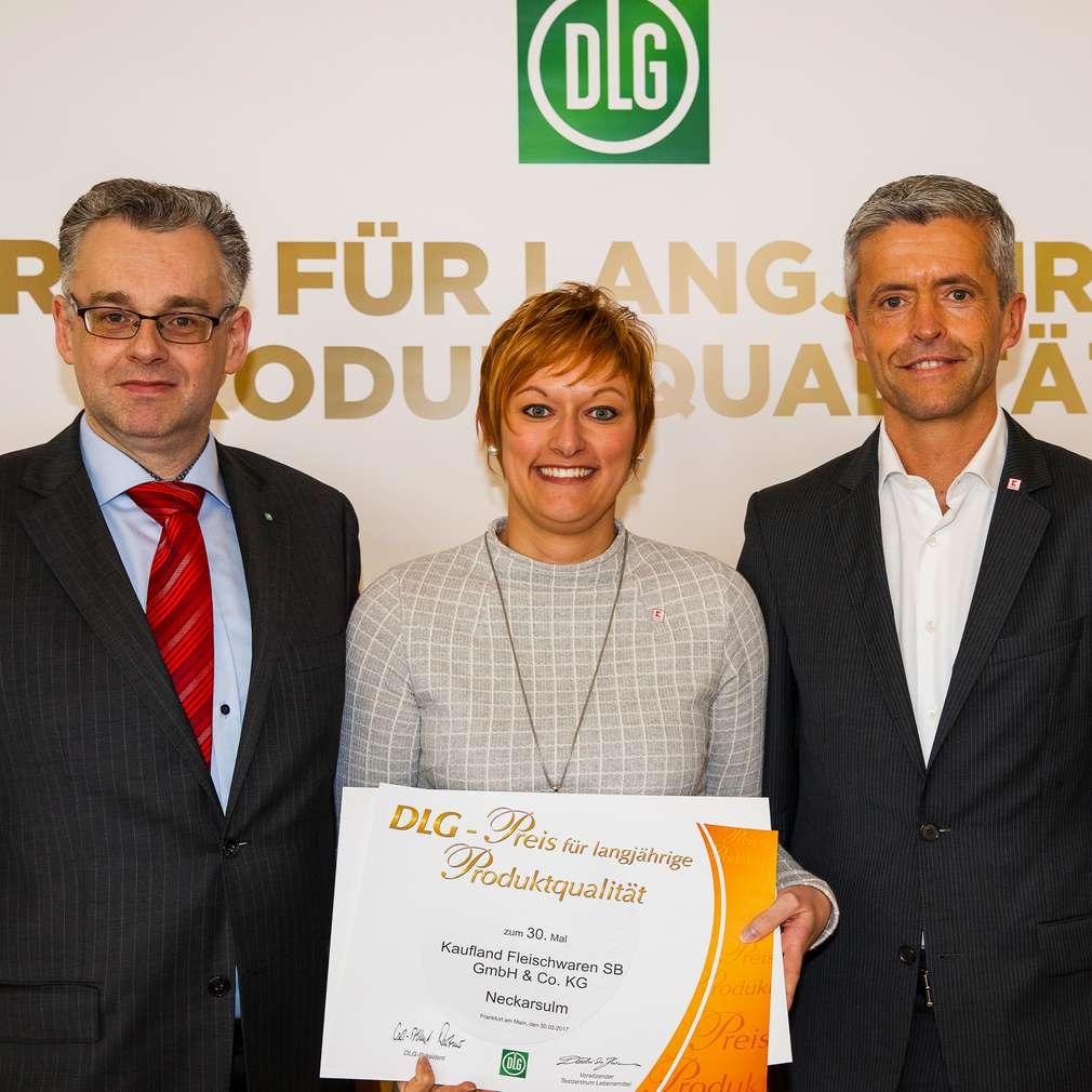 Dr. Diedrich Harms, Nicole Schwab und Guido Vienenkötter (von links)