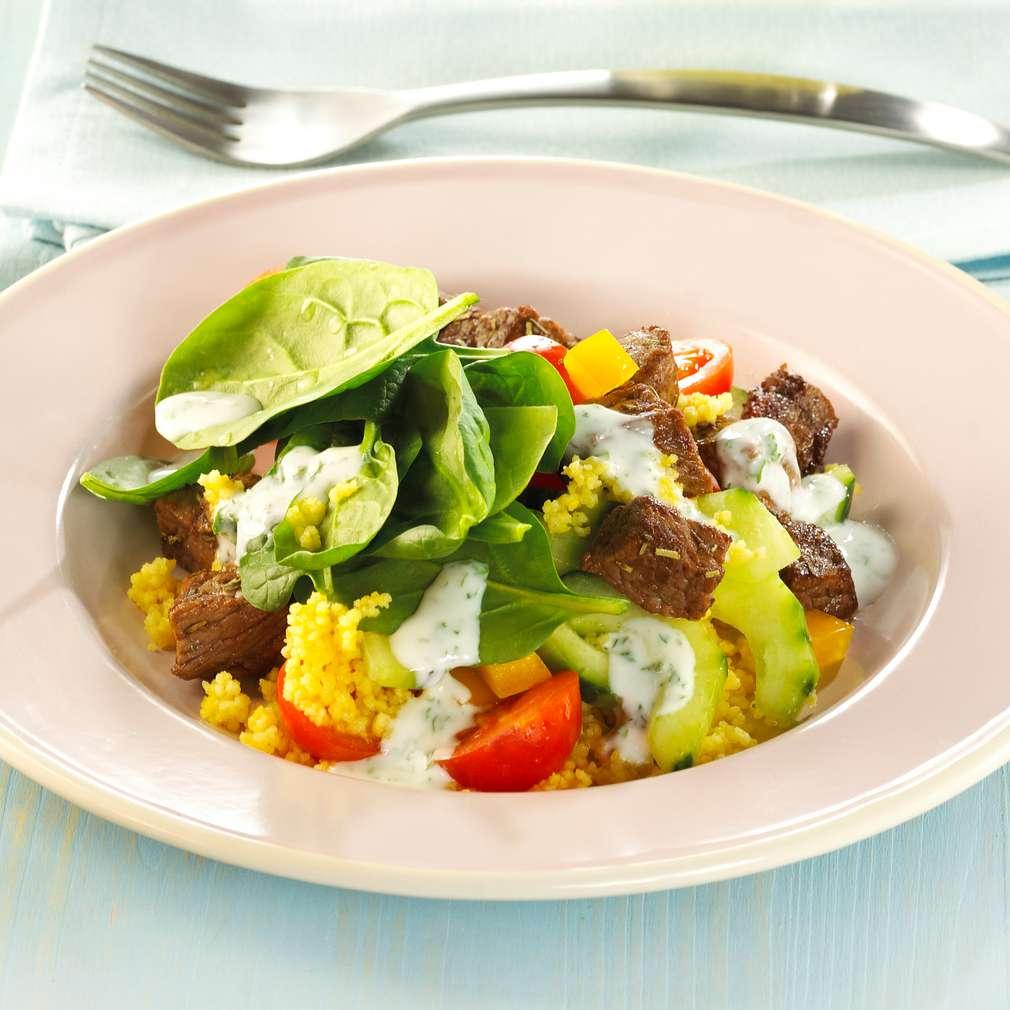 Abbildung des Rezepts Couscous-Currysalat