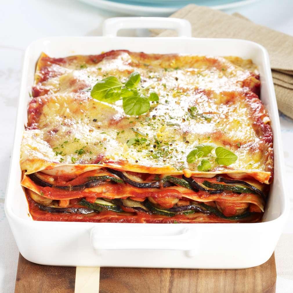 Zobrazit Vegetariánské lasagne receptů