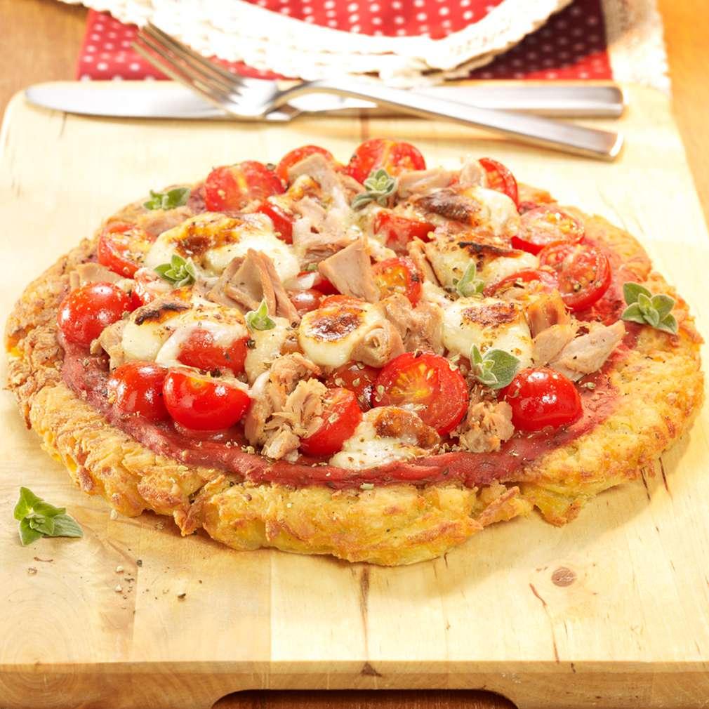 Abbildung des Rezepts Kartoffelpizza