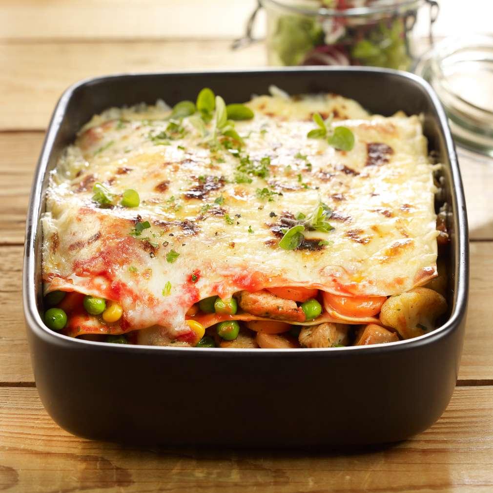 Abbildung des Rezepts Schnelle Gemüse-Puten-Lasagne