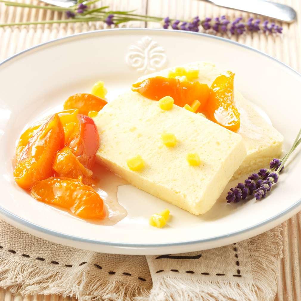 Abbildung des Rezepts Aprikosen-Mango-Parfait